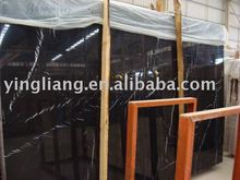 Black Marquina Chinese marble black Marble