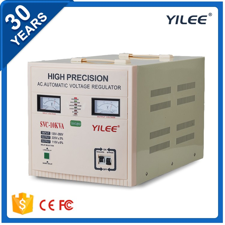 CE ROHS SVC static variac AC 10kva automatic voltage regulator
