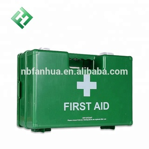 Plastic Medicine Box Empty First Aid Box Fist Aid Box