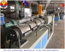 WPC/PVC plastic recycled construction/door/floor/furniture/advertising/decoration crust foamed board/sheet machine/extruder