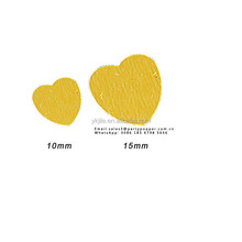 Party Metallic Table Confetti Gold Heart Confetti