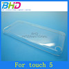 for ipod touch 5 plastic hard clear case
