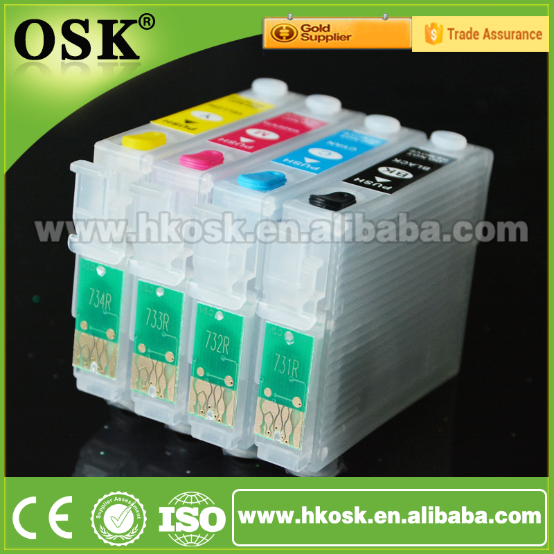 T1091 refill cartridges for Epson ME 30 ME 360 Compatible ink cartridge with Auto Reset Chip