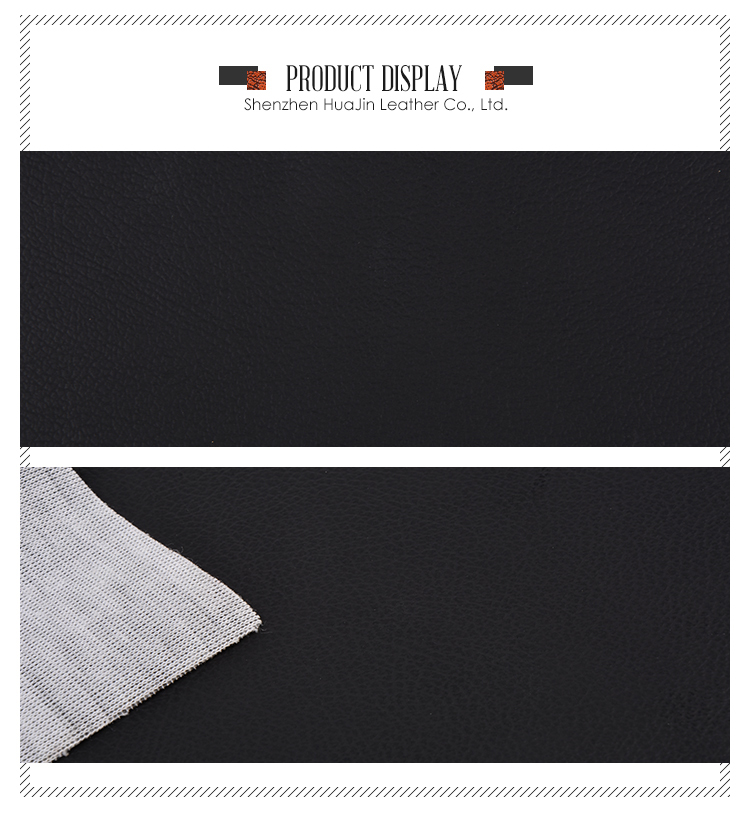 New product Pvc / Pu microfiber furniture synthetic leather