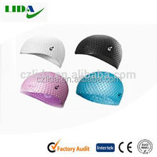 New coming silicone swimming cap for long hairs,Bubble cap