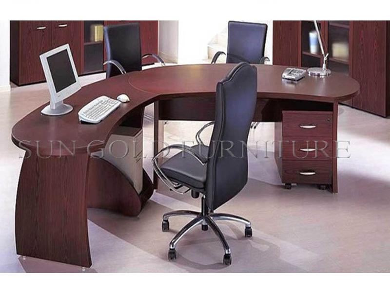 Modern Corner Office Furniture Cheap L Shape Office Desk