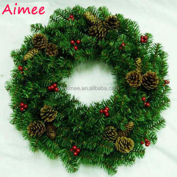 2014 yiuwu aimee supplies wholesale artificial christmas wreathschristmas wreath am lj06