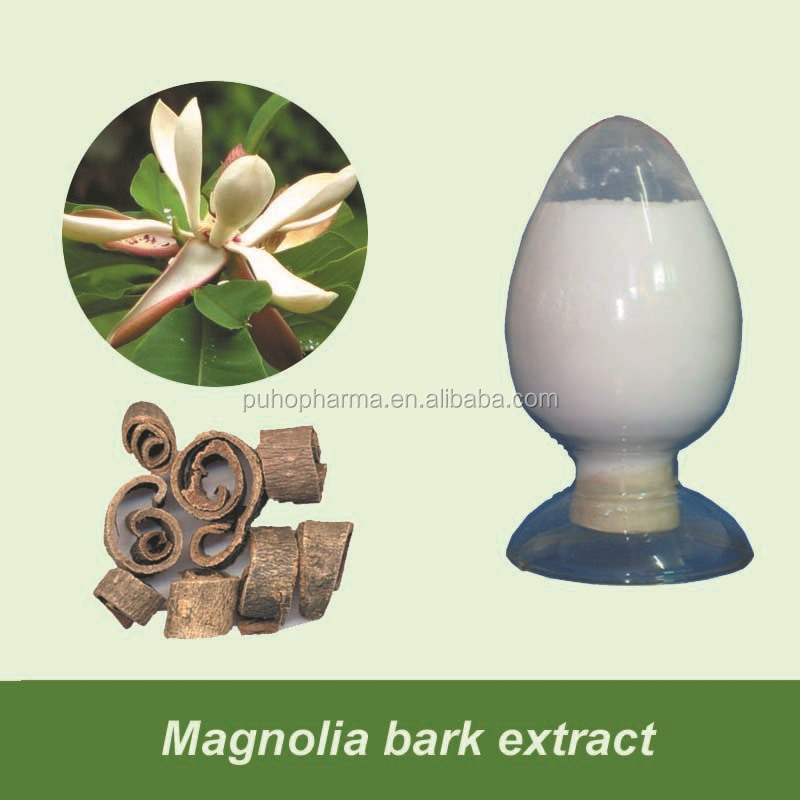 Wholesale Magnolia Bark Extract Powder Magnolia Honokiol Supplement Magnoliae Officinalis Extract