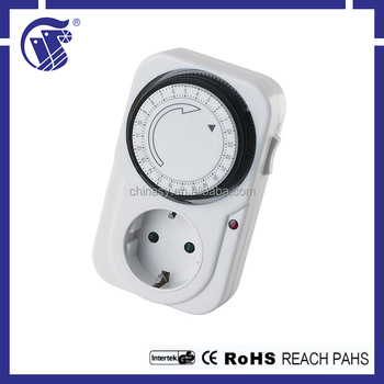 Multi-countries styles 220-240V AC mechanical timer usa