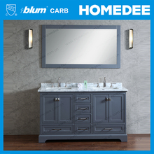 60 inch modern tall bathroom vanity