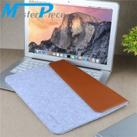 EXCO Multifunction Canvas felt cute men laptop bag Carrying bag for macbook 14''