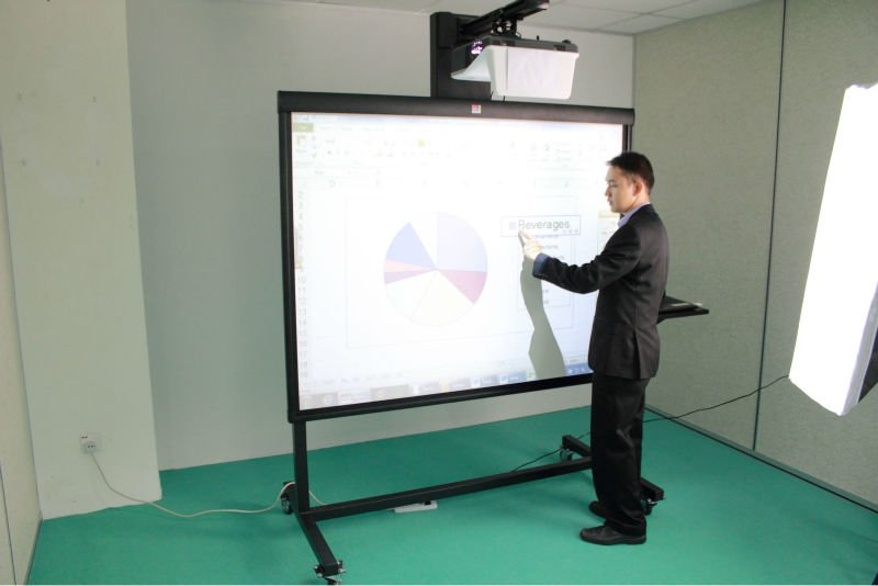 "1001 Technologies - Interactive Whiteboard 77"", 84"", 88"" Multi-Touch (RM5,000 promotion price)"