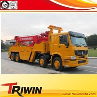 new china cheap price 4x2, 4x4, 6x2, 6x4,8x4 10 ton heavy duty tow truck under lift wrecker truck for sale
