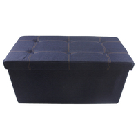 General Use Home Furniture Storage Seating Ottoman