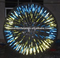 Zorb Ball sale to uk, Fluorescent/Glowing Zorb Ball for party M7013