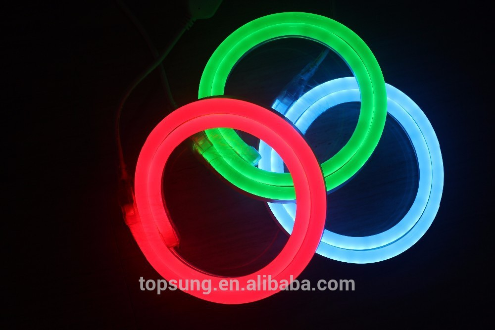164'(50m) spool ultra thin 10*18mm China supplier 24v colored jacket led neon sign