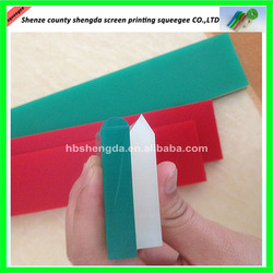 T Shpae Retail or Wholesale Green silk screen Polyurethane squeegee