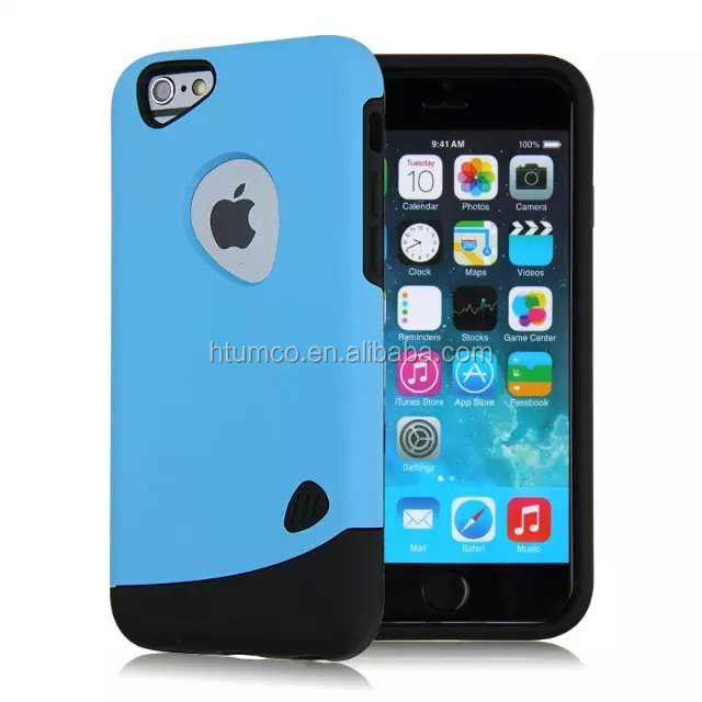 wholesale Newly design PC+silica gel case, sublimation case, premium case for iphone 6/ iphone 6plus