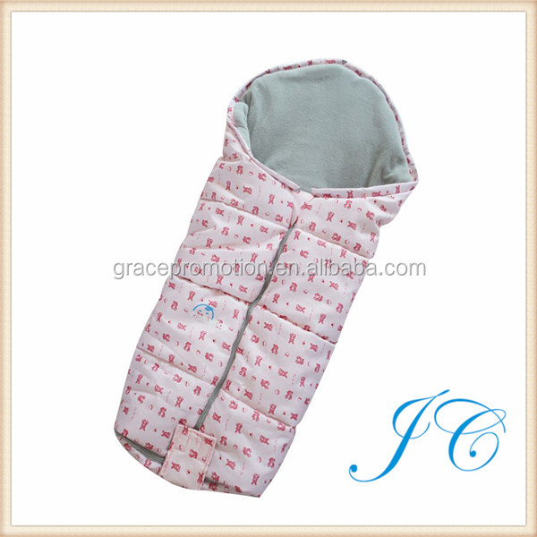 New Design 100% Cotton Camping Comfortable Baby Sleeping Bag With Cheaper Promotion