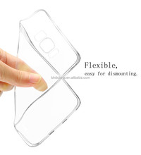 2017 trending products Clear Soft TPU Transparent Protective Case for samsung galaxy S8