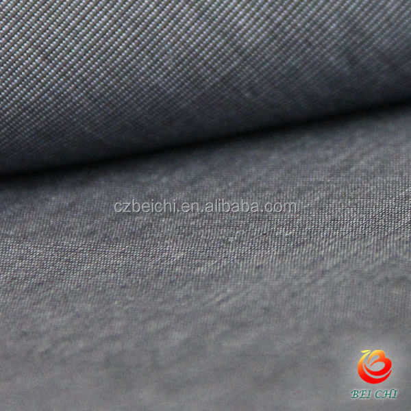 ctn yarn dyed black and grey fil-a-fil fabric for shirts in china