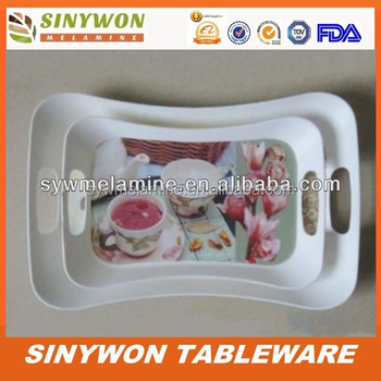 Food grade plastic food Tray set
