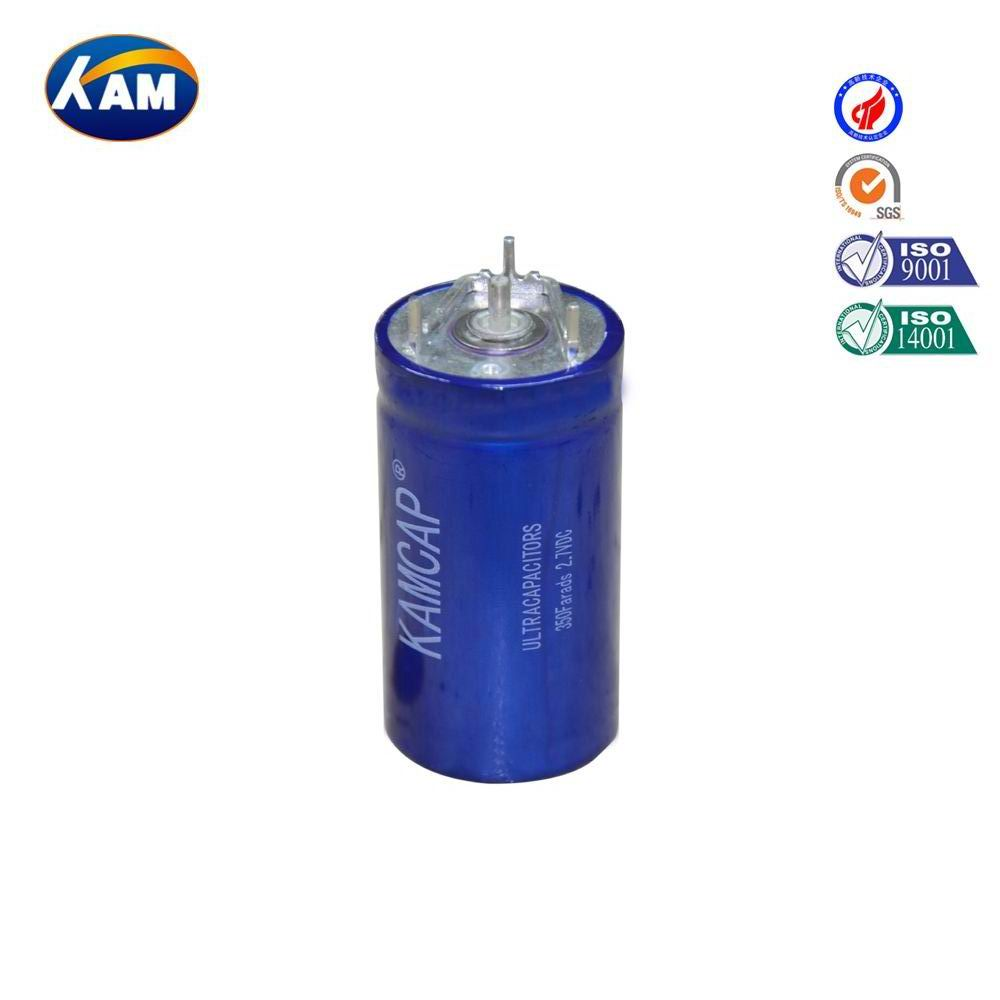hot selling low price 2.7V 350F super capacitor , sealed type, for car starting