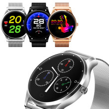 k88h heart rate monitor bluetooth touch screen smart sport fitness wrist watch for ios