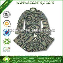 Tiger Stripe Combat American CS or Paintball Game Uniform