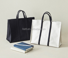 classic canvas beach tote bag women shopping canvas bag