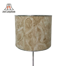 wholesale plastic film marbled pattern ceiling lamp parts light cover clips hanging fabric lamp shades