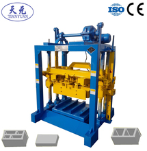 Tianyuan Factory manual coal ash brick making machine for sales price