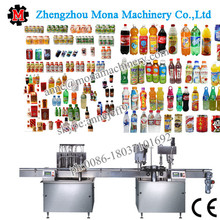 shampoo filling machine/liquid soap filling machine/pump bottle filling capping machine