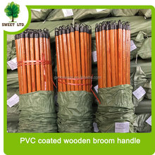 Sweeping tools PVC coated brush wood handle