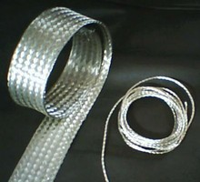 silver plated braided copper flexible connectors