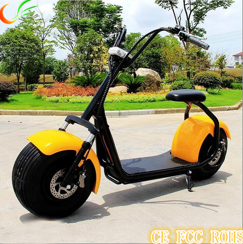 Flyers HALEI I 1000W electric <strong>motorcycle</strong> citycoco with 60V 12AH battery