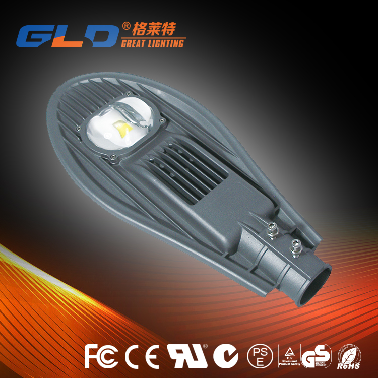 85-265V Warm White 60w Led Street Light for Streets, Garden Yard and Parking Lot