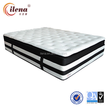 Luxury and comfortable bamboo latex pocket spring mattress