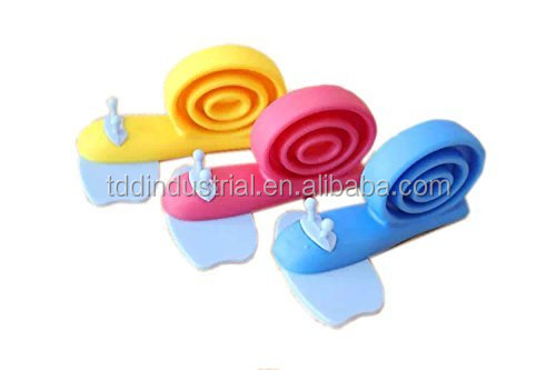 Snail Shaped Rotatable Door Stop Finger Pinch Guard for Baby