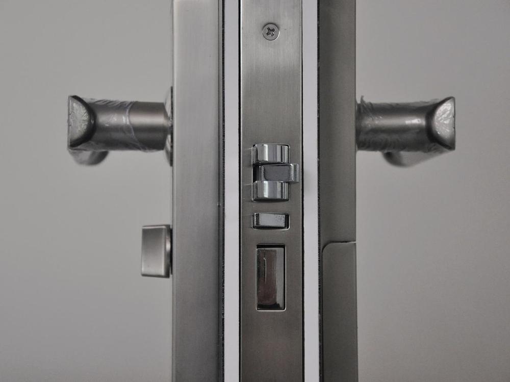 Rfid Hotel Door Lock With Handle Moli Lock Keyless Rfid