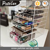 clear cosmetic box organizer jewellery storage acrylic makeup display containers