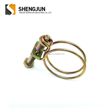 Good quality Double wire hose clamp