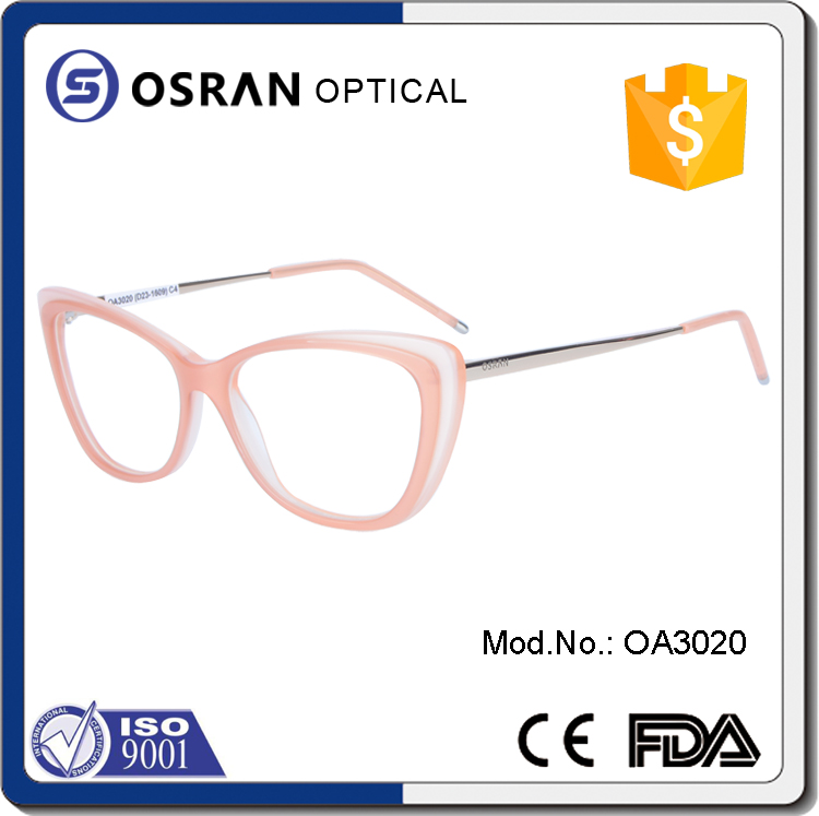 Custom logo new brand optical frames manufacturers in italy