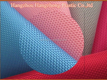 1680D Double 100% polyester oxford PU coating fabric