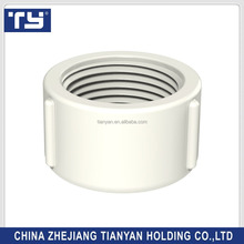 TY brands high quality BS threaded standard plastic PVC UPVC Rubber Joints pipe fittings Female cap