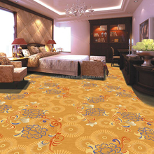 Hotel Bedroom Axminster Broadloom Carpet with Pattern