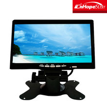 High quality 7 inch universal car headrest video dvd player tv monitor