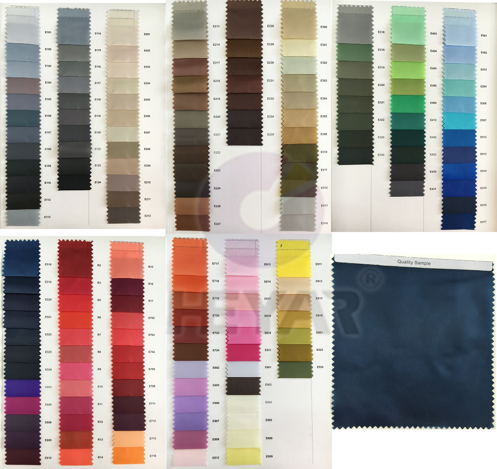 160 Colors For Choice Ready Stocklot Lining Fabric