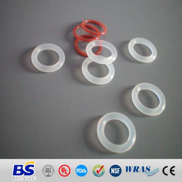 OEM cheap translucent food grade sealing <strong>silicone</strong> o ring