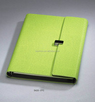 Wenzhou Manufacturing 3TC Series a4 cheap leather notebook cover design